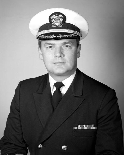 Commander Robert W. Neel, USN (covered)
