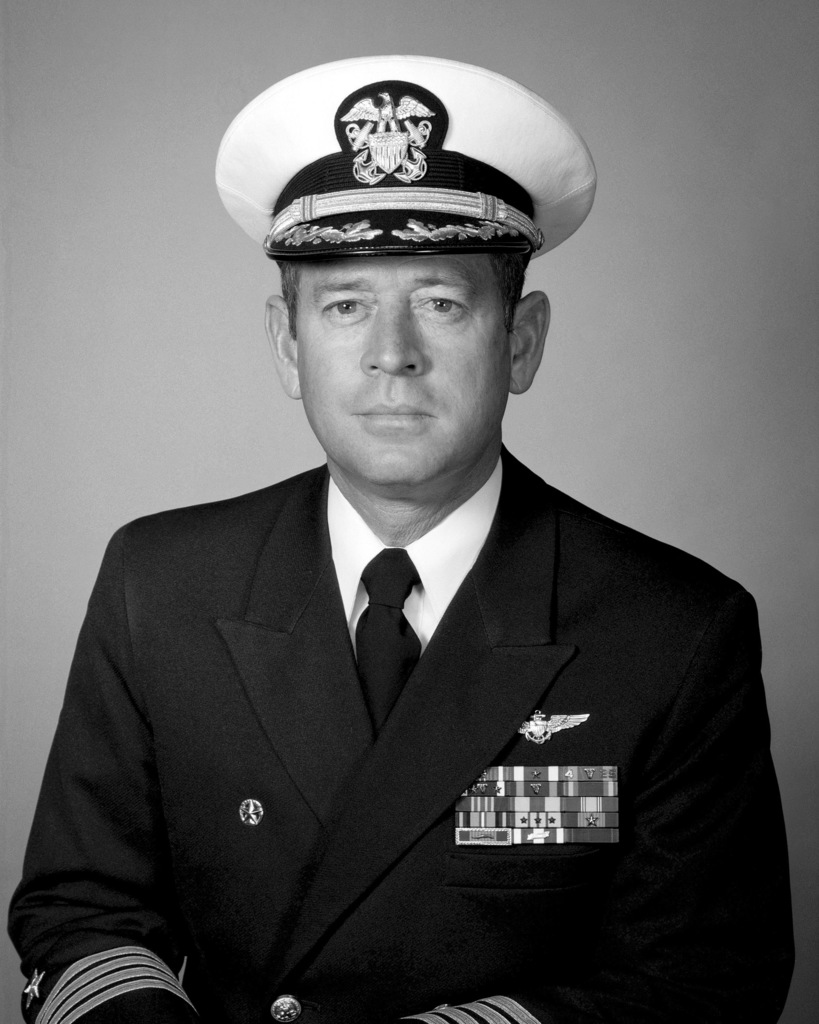 Captain Leighton W. Smith Jr., USN (covered)