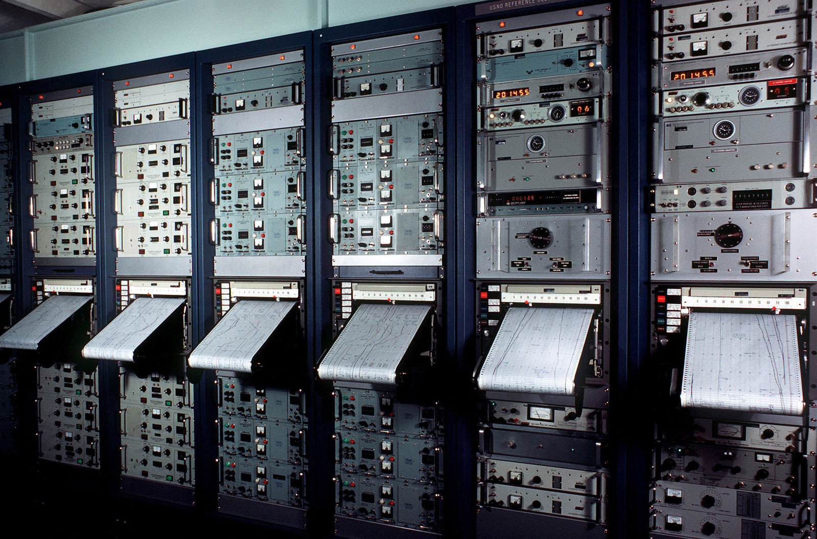 Cesium beam atomic clocks at the US Naval Observatory