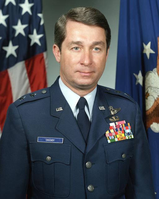 Major General Duane H. Cassidy, USAF (uncovered)
