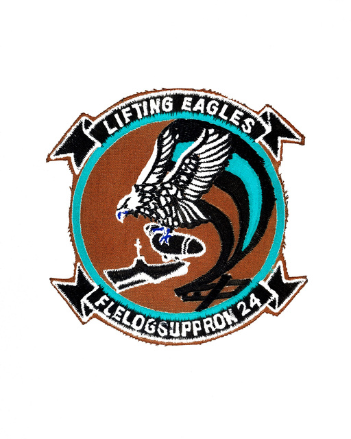 Approved insignia for Fleet Logistics Support Squadron (VR 24)