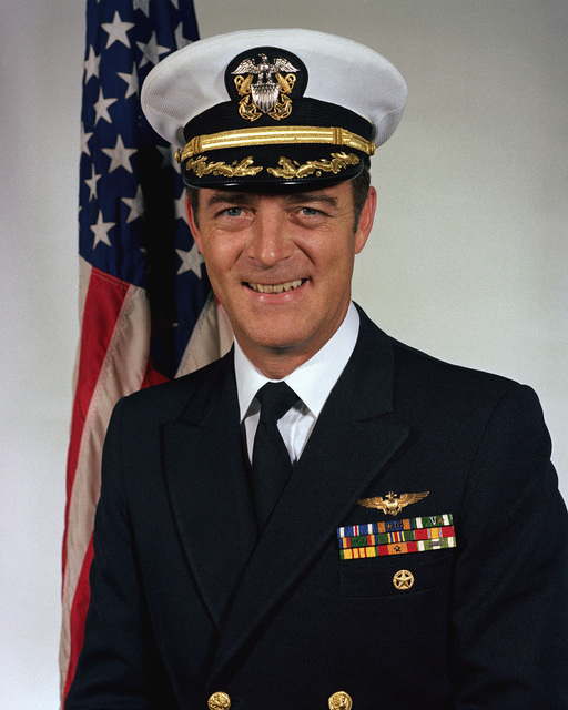 Captain Hugh A. Merrill, USN (covered)