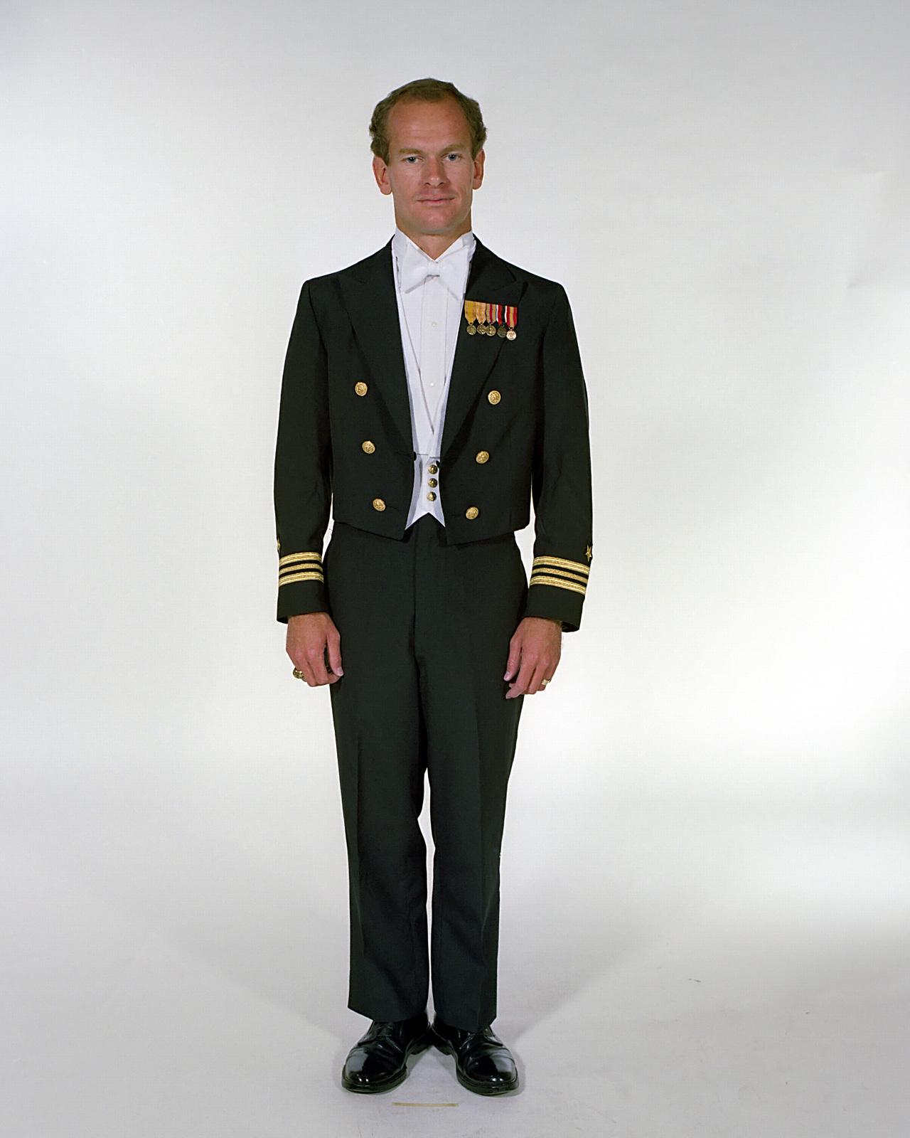 navy uniforms mens formal dress white tie 1984