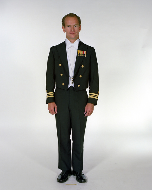 Navy Uniforms Mens Formal Dress White Tie 1984 Uniform