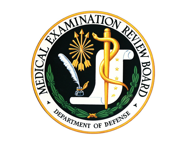 The Medical Examination Review Board Emblem