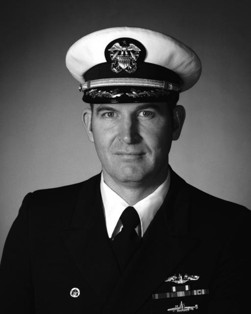 Commander Authur D. Jones, USN (covered)