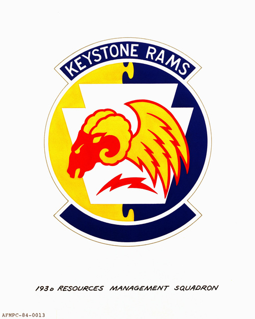 Approved insignia for: 193rd Resources Management Squadron