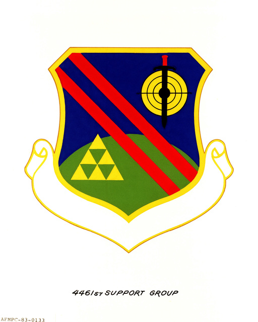 Approved insignia for: 4461st Support Group