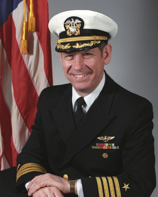 Captain Henry C. North, USN (covered)