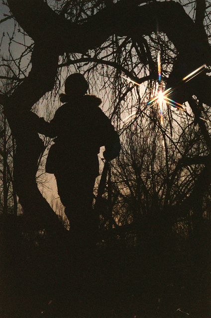 STAFF Sergeant Covill Robert of the 4/64th Air Defense Artillery stands guard during an early morning training exercise