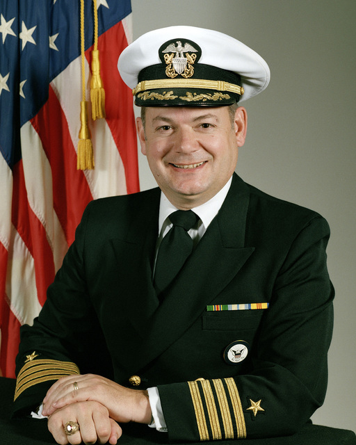Captain Kent S. Webber, USN (covered)