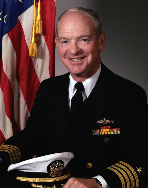 Captain Walter R. Beck, USN (uncovered)