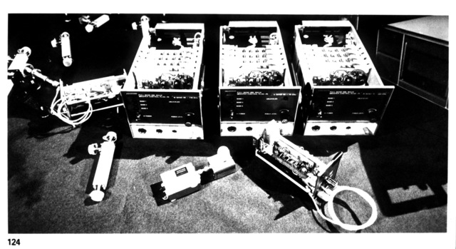 Millimeter-Wave equipment seized in the US enroute to the USSR as part of Operation EXODUS in 1982. Courtesy of Soviet Military Power, 1984. PHOTO No. 124, page 109, top