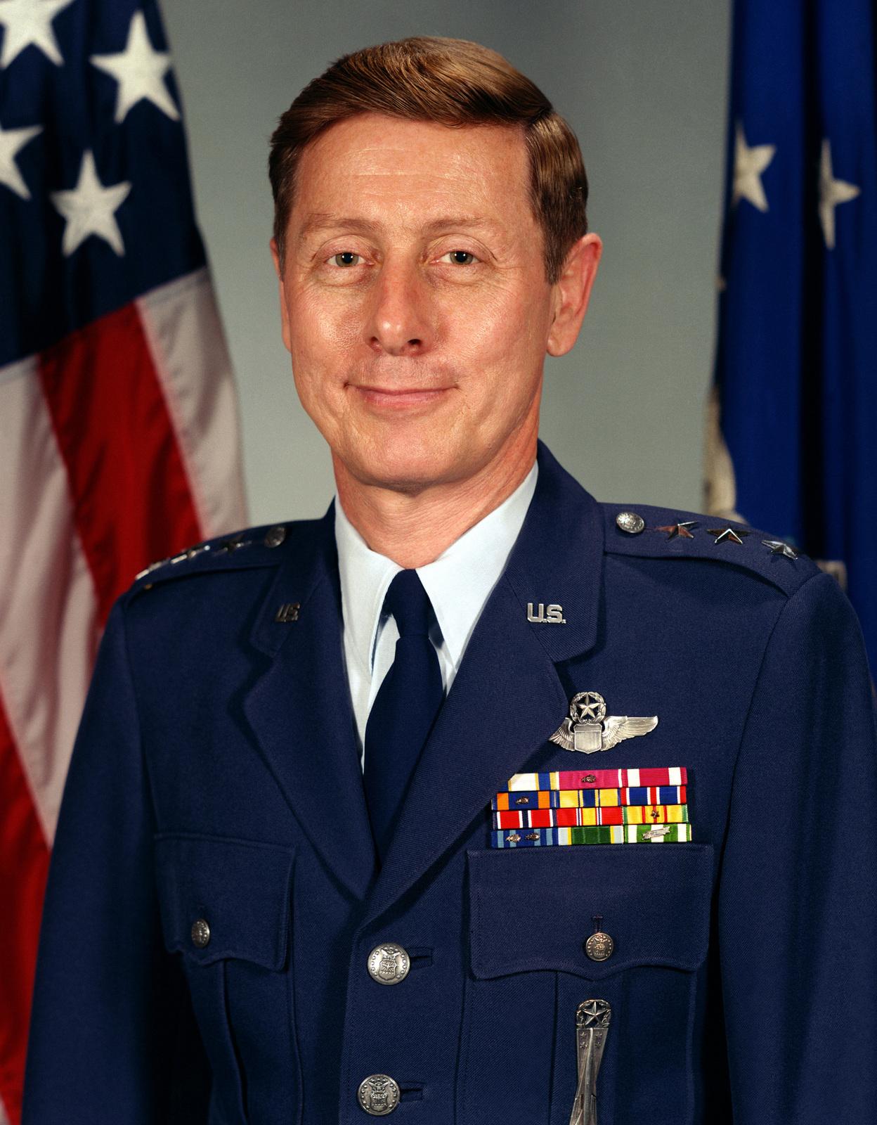 Lieutenant General James A. Abrahamson Jr., USAF (uncovered)