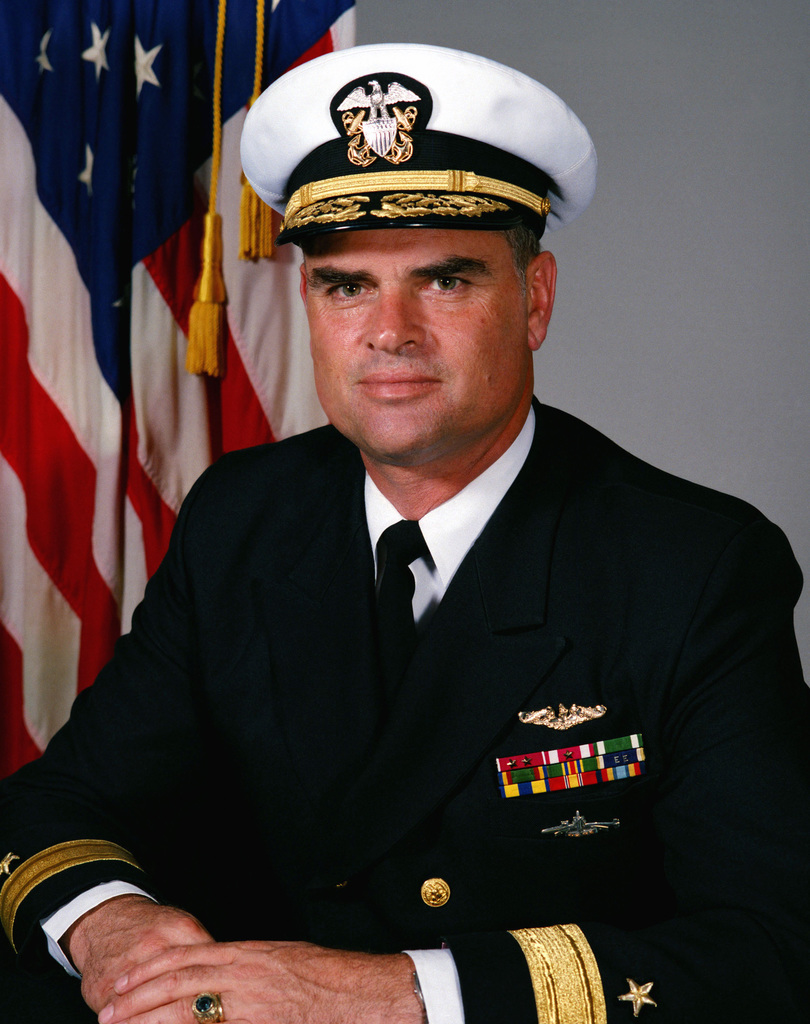 Commodore Roger F. Bacon, USN (covered)