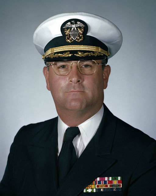 Commander (CDR) Peter C. Wylie, USN (covered)