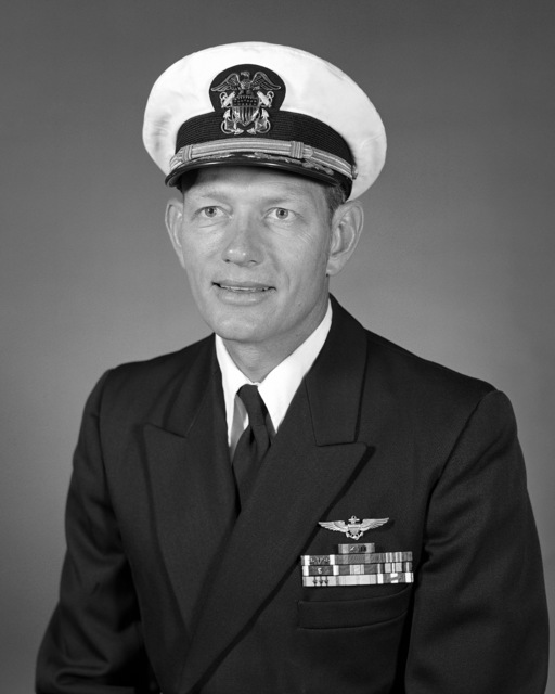 Commander (CDR) Eric Axel Jensen, USNR-R (covered)