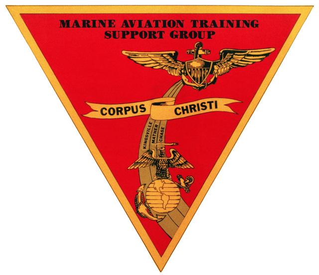 Approved insignia for: Marine Aviation Training Support Group, Corpus Christi