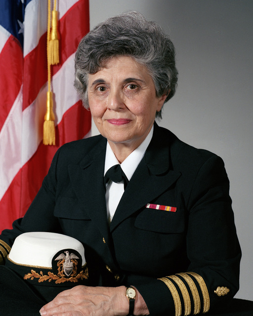 Captain (CAPT) Theresa M. Proto, USN (uncovered)