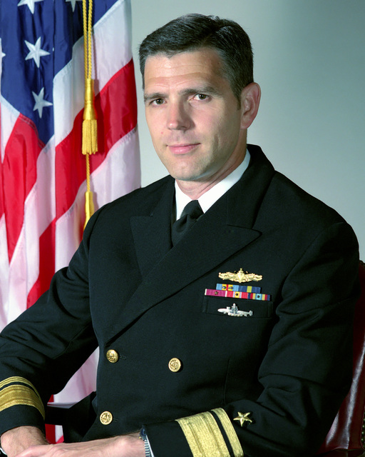 Rear Admiral (RADM) Jonathan T. Howe, USN (uncovered)