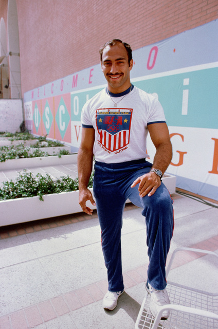 Army Captain Leo White, a member of the judo team competing at the 1984 Summer Olympics