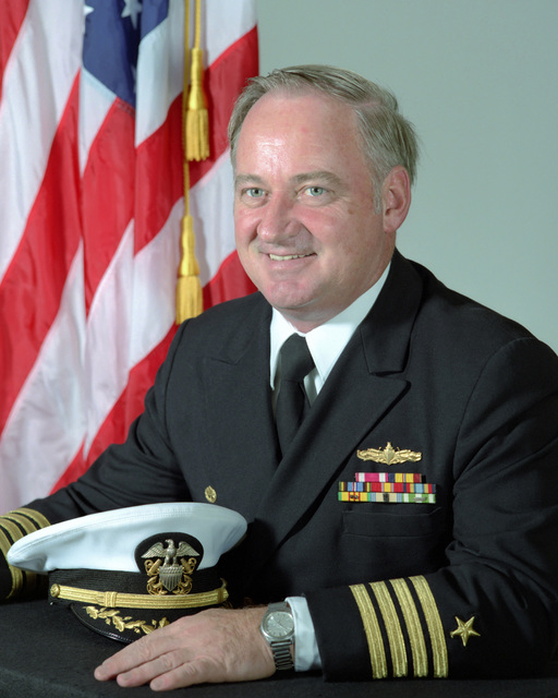 Captain (CAPT) Robert A. Leary, USN (uncovered)