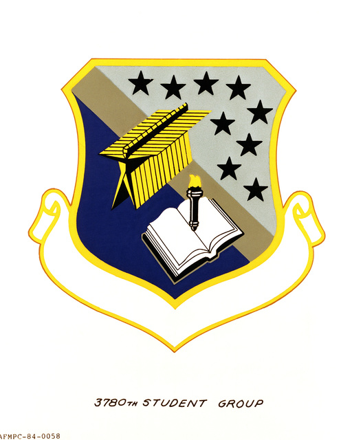 Official emblem for the 3780th Student Group