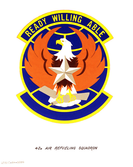 Official emblem for the 42nd Air Refueling Squadron
