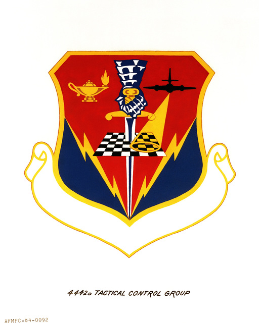 Official emblem for the 4442nd Tactical Control Group