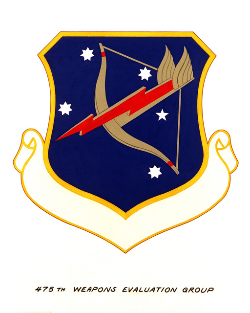 Official emblem for the 475th Weapons Evaluation Group