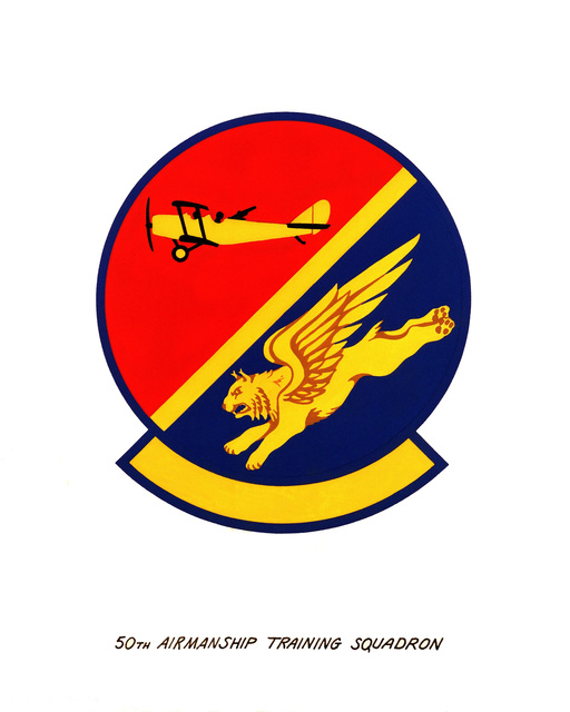 Official emblem for the 50th Airmanship Training Squadron