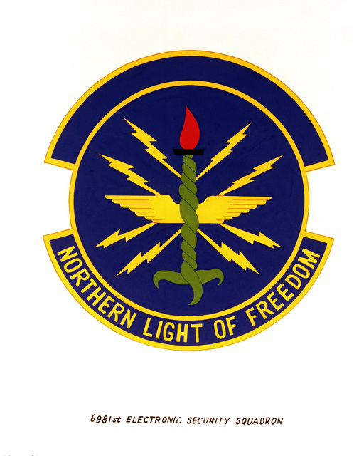 Official emblem for the 6981st Electronic Security Squadron