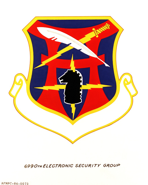 Official emblem for the 6990th Electronic Security Group