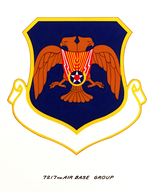 Official emblem for the 7217th Air Base Group