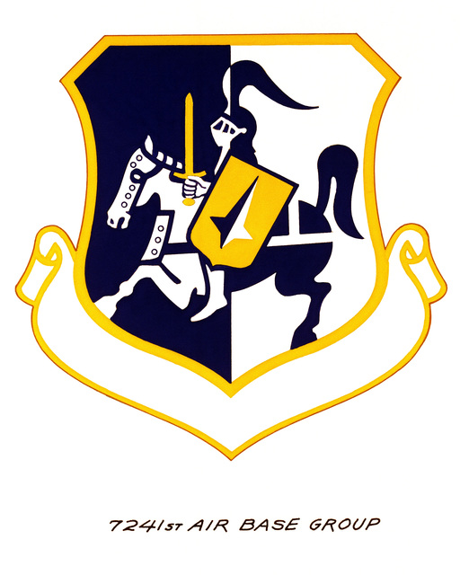 Official emblem for the 7241st Air Base Group