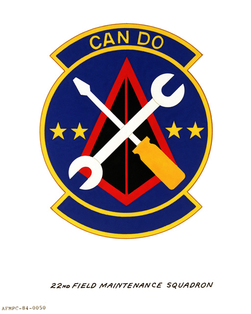 Official emblem for the Field Maintenance Squadron