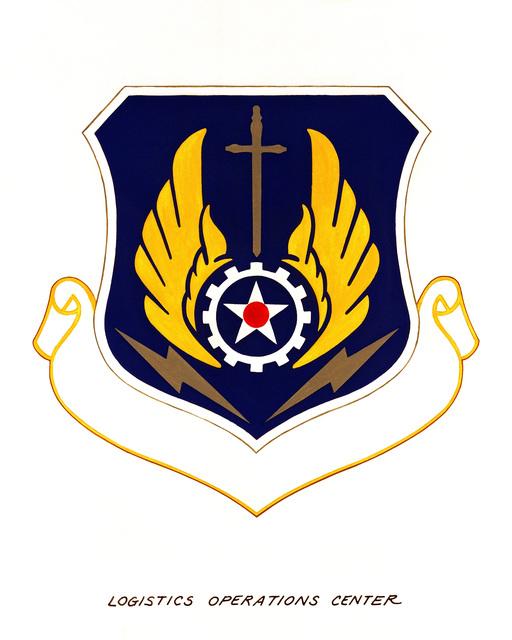 Official emblem for the Logistics Operation Center