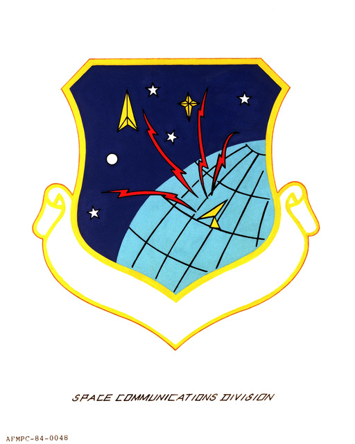 Official emblem for the Space Communications Division