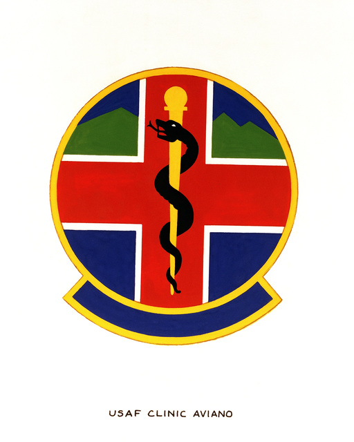 Official emblem for the USAF Clinic Aviano