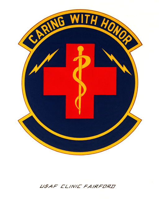 Official emblem for the USAF Clinic Fairford