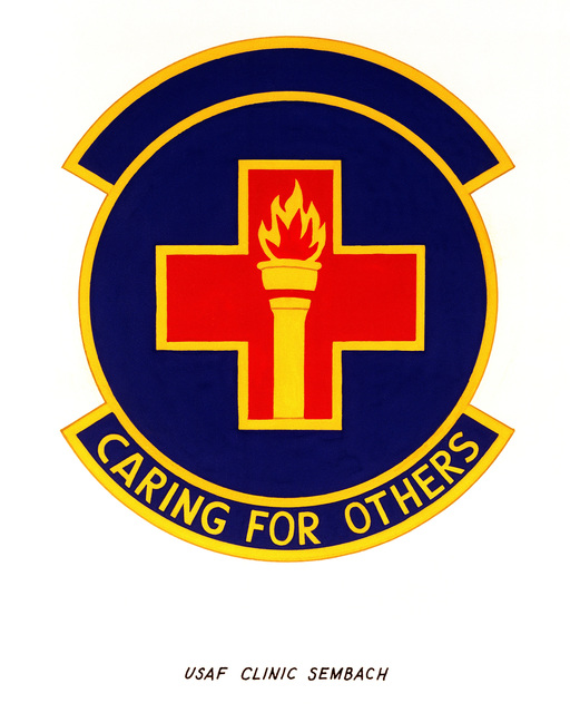 Official emblem for the USAF Clinic Sembach