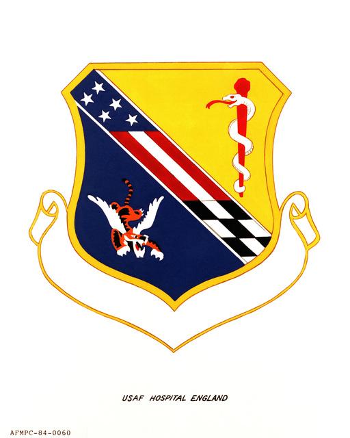 Official emblem for the USAF Hospital England