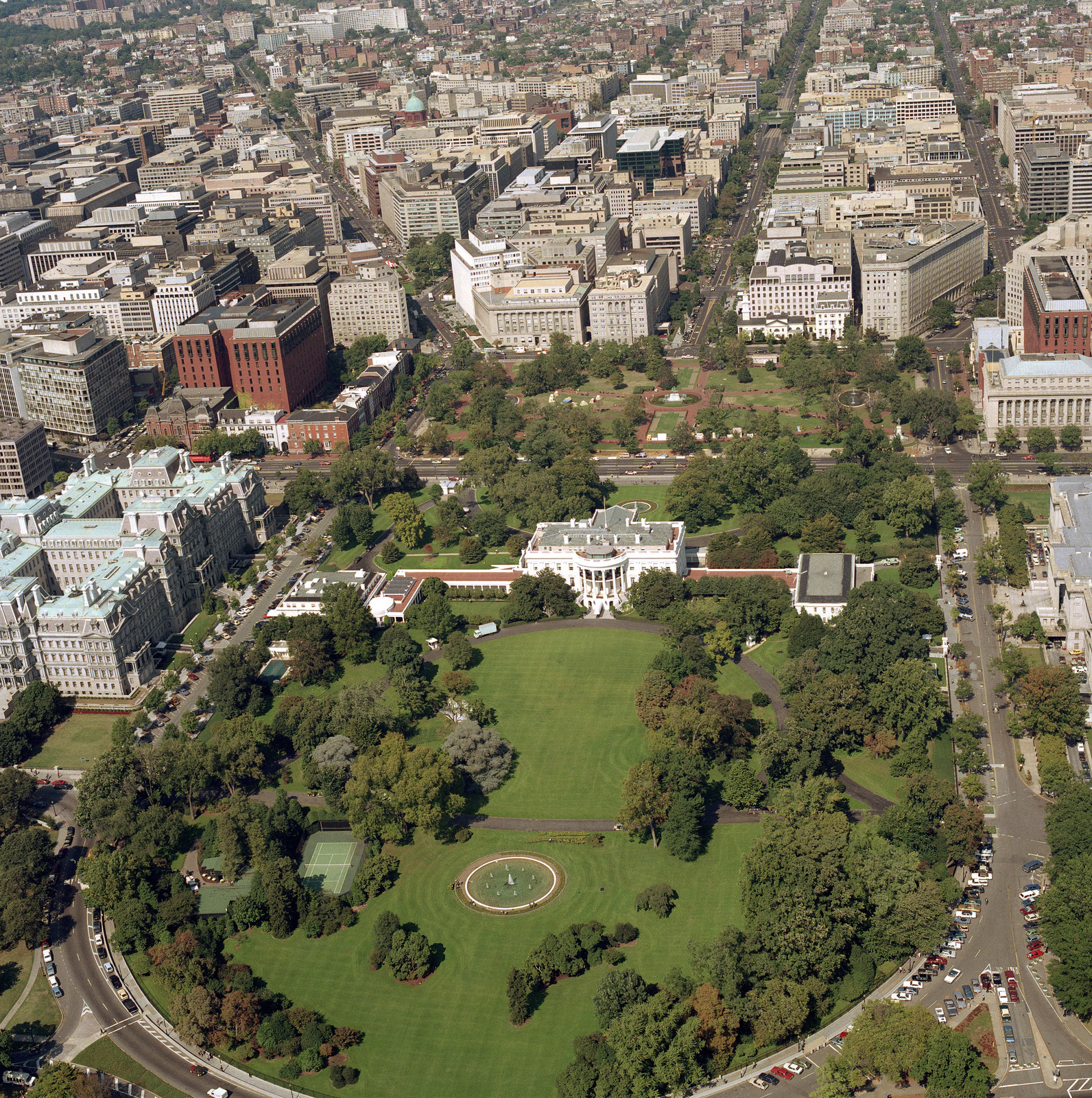 Amazing An Aerial View Of The White House And The Ellipse U S Download Free Architecture Designs Scobabritishbridgeorg
