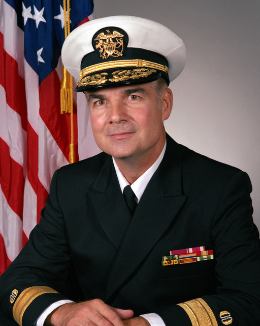 Commodore H. Don Campbell, USN (covered)