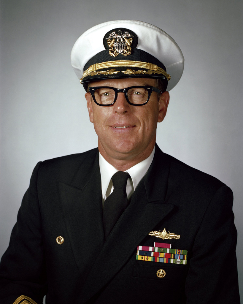 Captain K. S. Stewart, USN (covered)