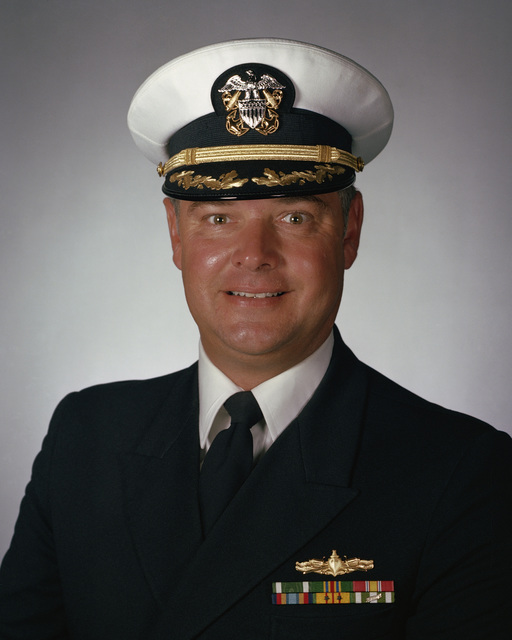 Commander (CDR) Eric A. Stein, USN (covered)