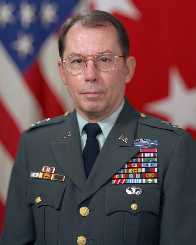Portrait:  US Army (USA) Major General (MGEN) William C. Moore (uncovered)