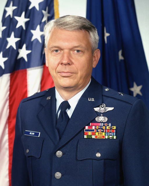 Brigadier General Eric B. Nelson, USAF (uncovered)
