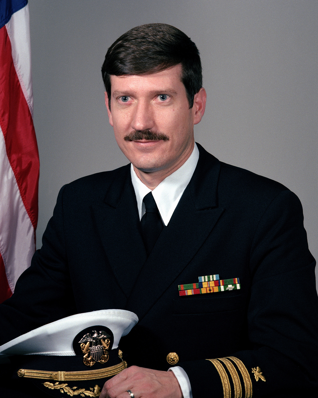 Commander David D. Compton, USN (uncovered)