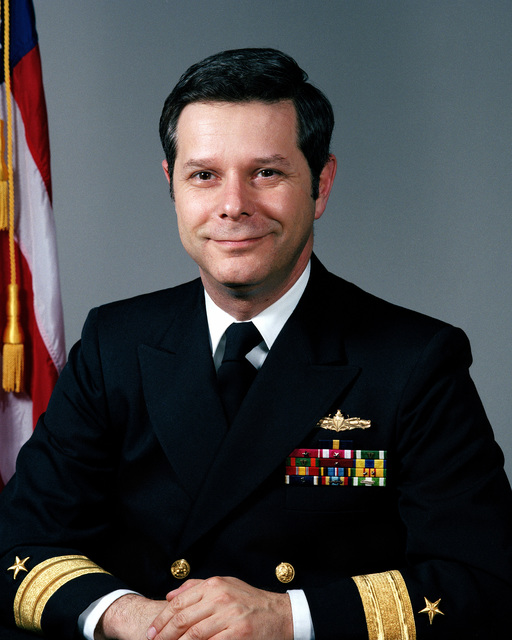 Commodore Jeremy M. Boorda, USN (covered)
